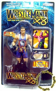 WWE Wrestling Action Figure WrestleMania 18 RVD Rob Van Dam