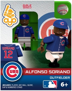 OYO Baseball MLB Generation 2 Building Brick Minifigure Alfonso Soriano [Chicago Cubs]