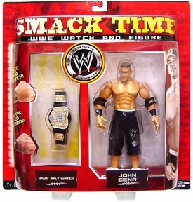 WWE Wrestling Smack Time Cena with WWE Belt Watch Rare!