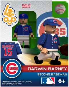 OYO Baseball MLB Generation 2 Building Brick Minifigure Darwin Barney [Chicago Cubs]