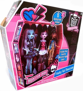 Monster High Freaky Fab Showcase Display Your Favorite Monster High Dolls!