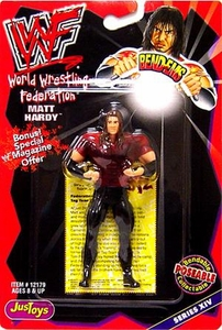 WWF / WWE Wrestling Superstars Bend-Ems Figure Series 14 Matt Hardy