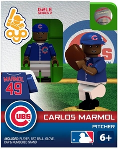 OYO Baseball MLB Generation 2 Building Brick Minifigure Carlos Marmol [Chicago Cubs]
