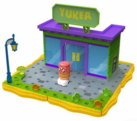 Moshi Monsters Bobble Bots Store Playset Yukea with Plinky [500 Rox]