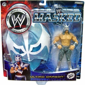 WWE Wrestling Action Figure Masked Ultimo Dragon with Wearable Mask