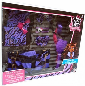 Monster High Clawdeen Wolf Growlicious Fashion Set