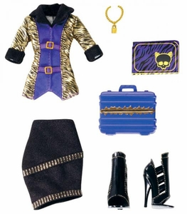 Monster High Fashion Entrepreneur's Club Fashion Pack Clawdeen Wolf