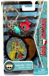 Monster High Freakey Ring & Mirror Lagoona Blue & Neptuna