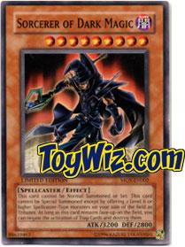 YuGiOh the Movie Promo Single Card MOV-EN002 Sorcerer of Dark Magic