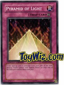 YuGiOh the Movie Promo Single Card MOV-EN004 Pyramid of Light