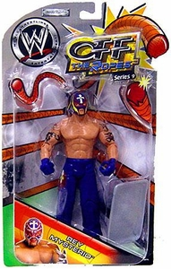 WWE Jakks Pacific Wrestling Action Figure Off The Ropes Series 9 Rey Mysterio