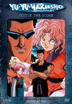 Yu Yu Hakusho DVD Volume 15 DARK TOURNAMENT - Settle the Score UNCUT