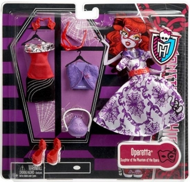 Monster High Deluxe Fashion Pack Operetta