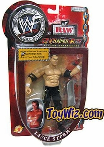 WWE Wrestling Unchained Fury Action Figure Ring Rage Lance Storm