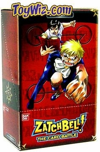Zatch Bell Card Battle Game Basic Series 1 Booster Box (12 Packs)