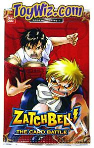Zatch Bell Card Battle Game Basic Series 1 Booster Pack