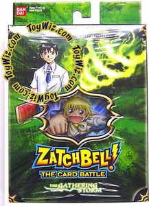 Zatch Bell Card Battle Game Gathering Storm Theme Deck Imminent Destruction (Green Box)