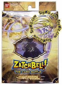 Zatch Bell Card Battle Game Gathering Storm Theme Deck Imminent Destruction (Brown Box)