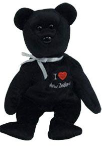 Ty Beanie Baby I Love New Zealand the Bear