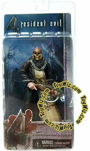 NECA Resident Evil 4 Series 2 Action Figure Black Zealot with Skull & Crossbow