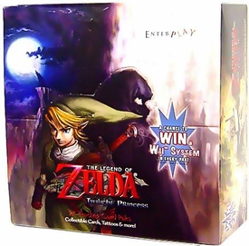 Legend of Zelda Twilight Princess Trading Card Box [24 Packs]