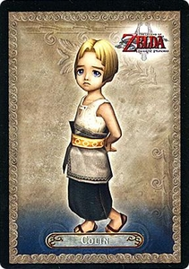 Legend of Zelda Twilight Princess Trading Card #11 Colin