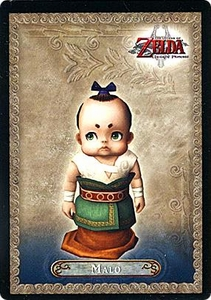 Legend of Zelda Twilight Princess Trading Card #14 Malo