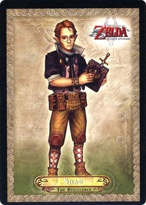 Legend of Zelda Twilight Princess Trading Card #16 Shad  [The Resistance]