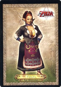 Legend of Zelda Twilight Princess Trading Card #17 Telma  [The Resistance]