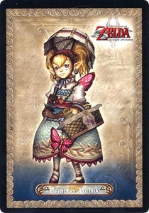 Legend of Zelda Twilight Princess Trading Card #20 Princess Agitha