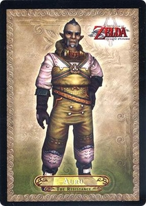 Legend of Zelda Twilight Princess Trading Card #22 Auru  [The Resistance]
