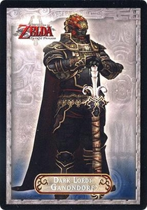 Legend of Zelda Twilight Princess Trading Card #23 Dark Lord: Ganondorf