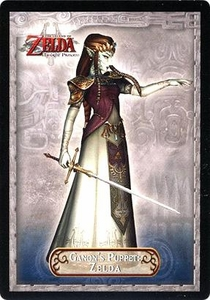 Legend of Zelda Twilight Princess Trading Card #25 Ganon's Puppet Zelda