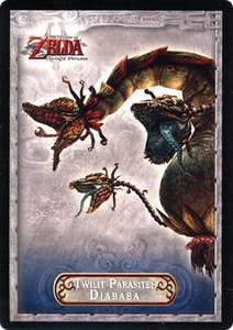 Legend of Zelda Twilight Princess Trading Card #27 Twilit Parasite: Diababa