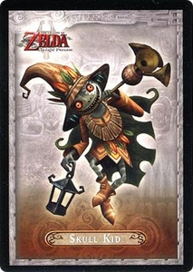 Legend of Zelda Twilight Princess Trading Card #30 Skull Kid