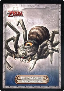 Legend of Zelda Twilight Princess Trading Card #31 Twilit Arachnid: Armogohma