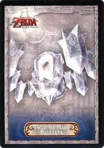 Legend of Zelda Twilight Princess Trading Card #33 Twilit Ice Mass: Blizzeta