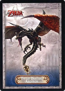 Legend of Zelda Twilight Princess Trading Card #37 Twilit Dragon: Argorok