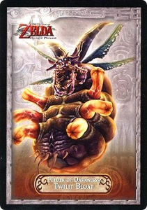 Legend of Zelda Twilight Princess Trading Card #38 Feeder of Darkness: Twilit Bloat
