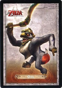 Legend of Zelda Twilight Princess Trading Card #39 Ook