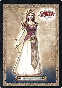 Legend of Zelda Twilight Princess Trading Card #3 Princess Zelda