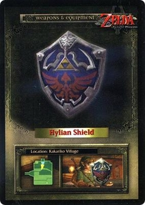 Legend of Zelda Twilight Princess Trading Card #41 Hylian Shield