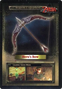 Legend of Zelda Twilight Princess Trading Card #42 Hero's Bow