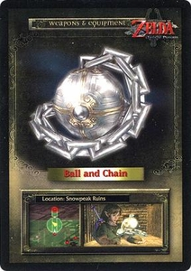 Legend of Zelda Twilight Princess Trading Card #44 Ball & Chain