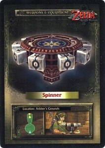 Legend of Zelda Twilight Princess Trading Card #45 Spinner