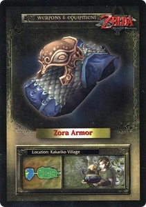 Legend of Zelda Twilight Princess Trading Card #47 Zora Armor