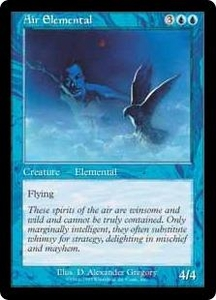 Magic the Gathering Battle Royale Box Set Single Card Uncommon Air Elemental