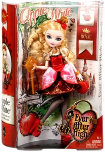 Ever After High Royal Doll Apple White [Daughter of Snow White]