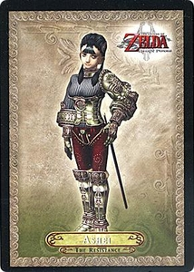 Legend of Zelda Twilight Princess Trading Card #4 Ashei  [The Resistance]