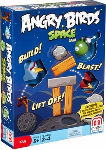 Mattel Angry Birds Board Game 3 Birds in Space